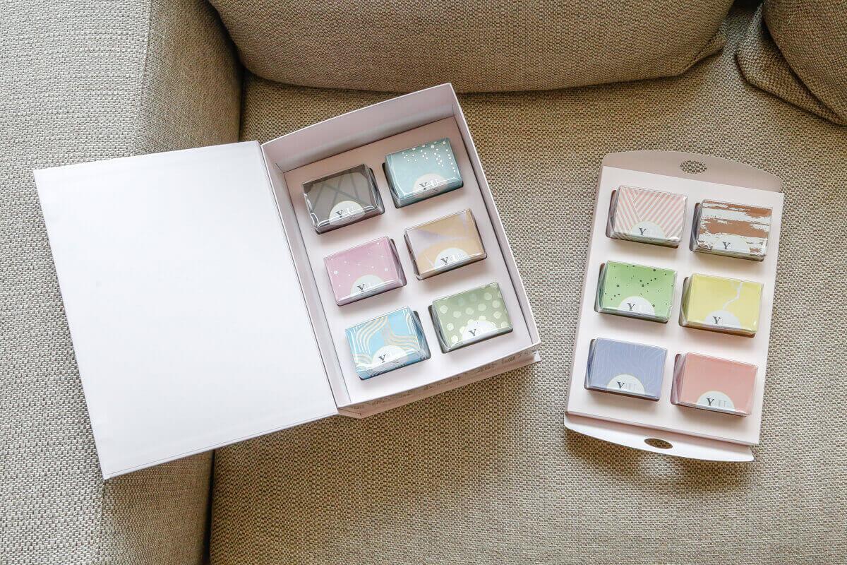 2021新年伴手禮禮盒推薦-Yuzu全家福綜合口味月光寶盒減糖馬卡龍大禮盒