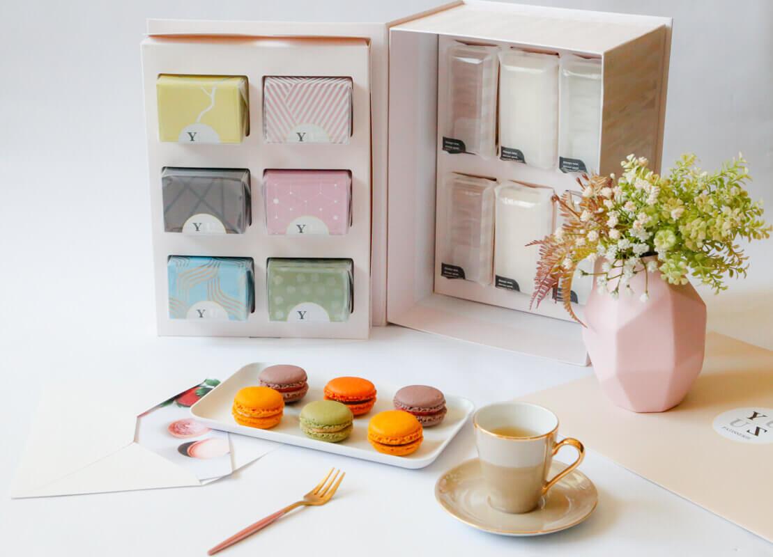 2021新年伴手禮禮盒推薦-Yuzu 全家福無麩減糖甜點大禮盒(含賀卡可客製卡片內容)