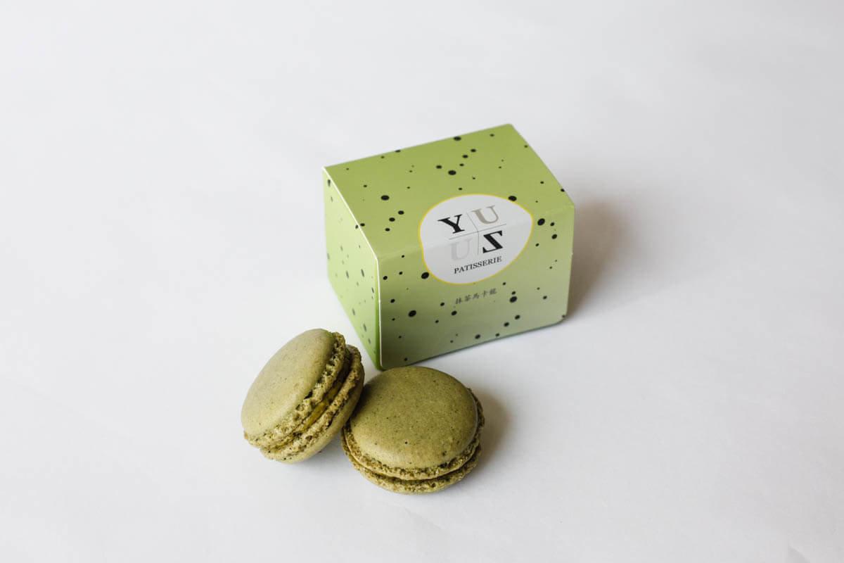 下午茶首選-Yuzu減糖日式抹茶馬卡龍