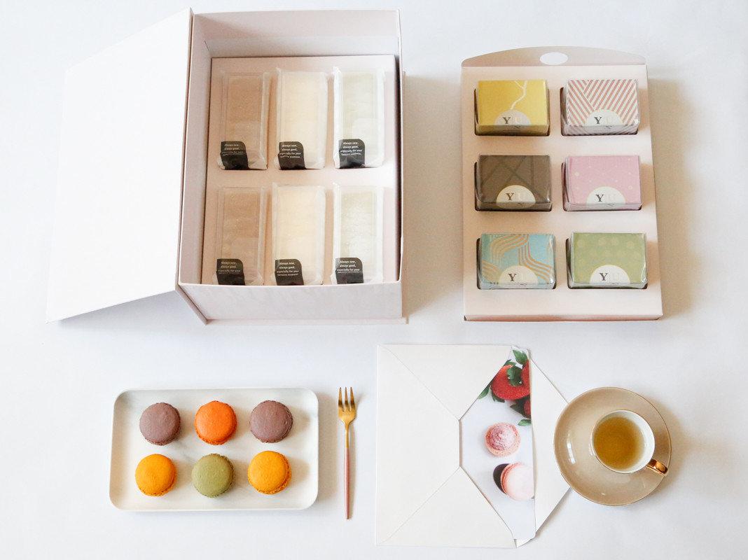 Yuzu綜合無麩減糖法式甜點大禮盒