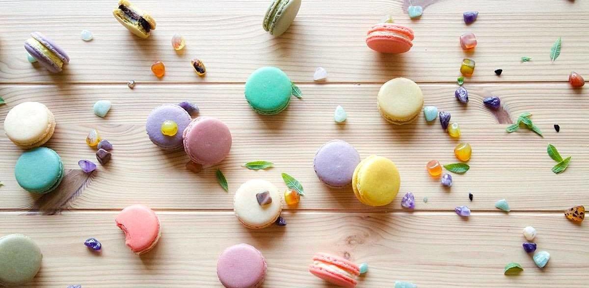 Yuzu鐵觀音奶酪減糖馬卡龍-台中法式甜點馬卡龍專賣店推薦