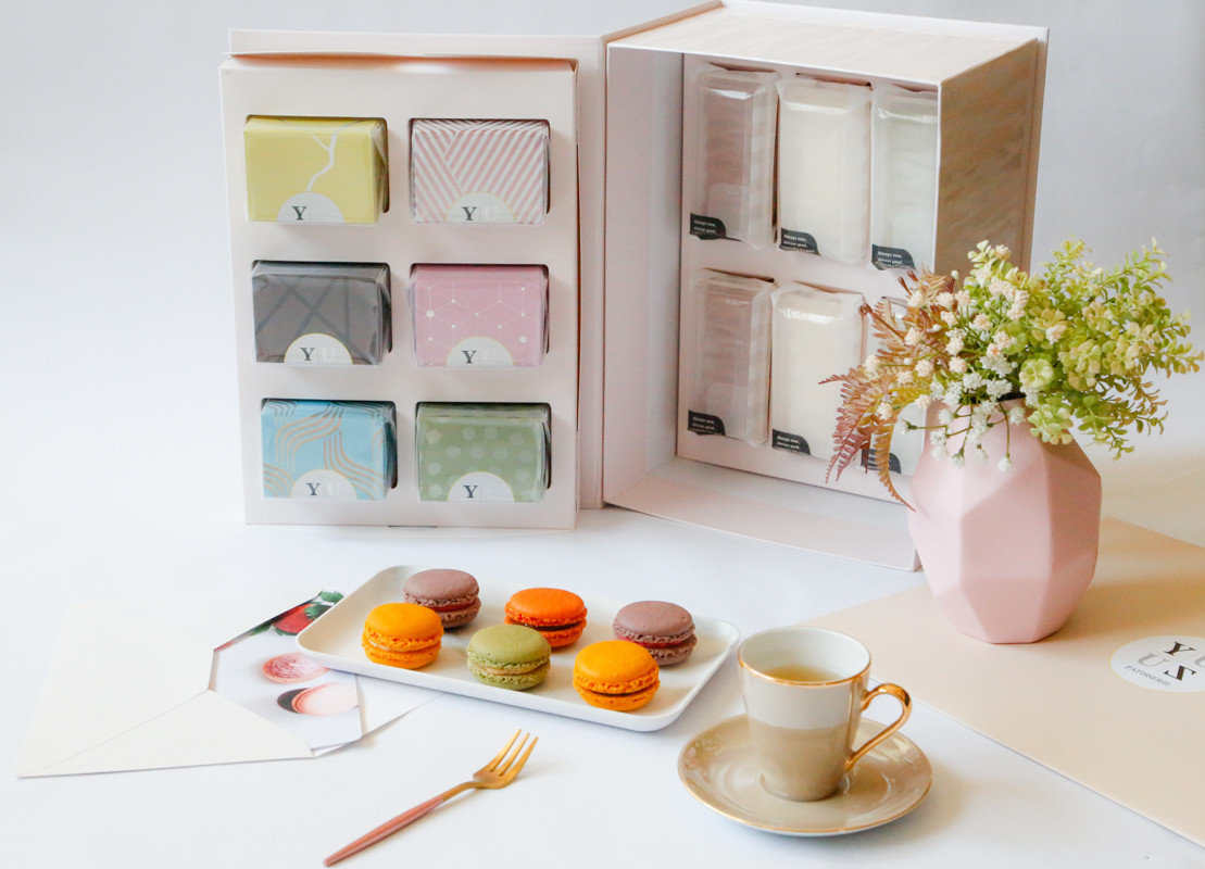 Yuzu無麩禮盒法式減糖甜點綜合口味組