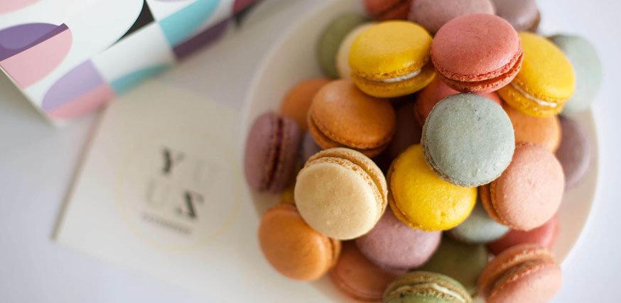 Yuzu減糖馬卡龍宅配資訊-台中法式甜點馬卡龍專賣店推薦