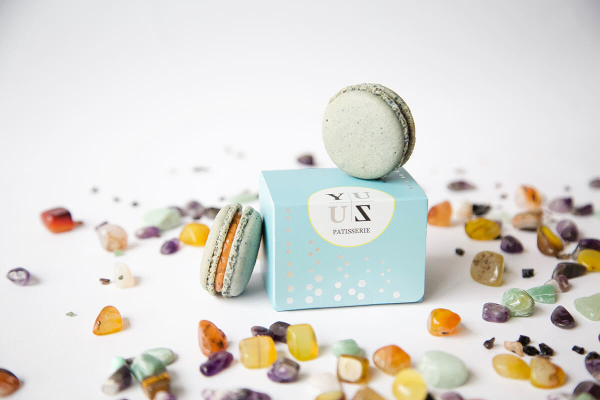 Yuzu減糖國寶茶馬卡龍-限量創意禮盒