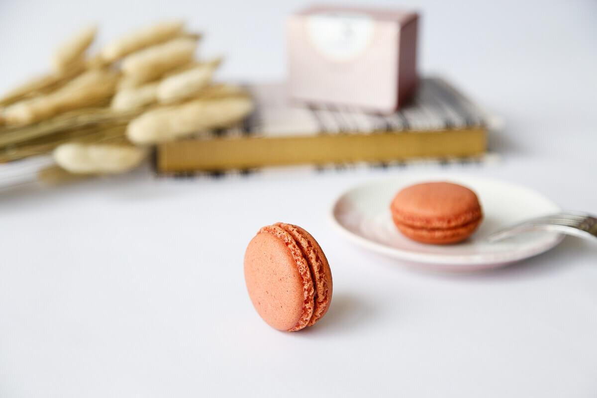 Yuzu減糖草莓馬卡龍-尋覓馬卡龍的夢幻滋味