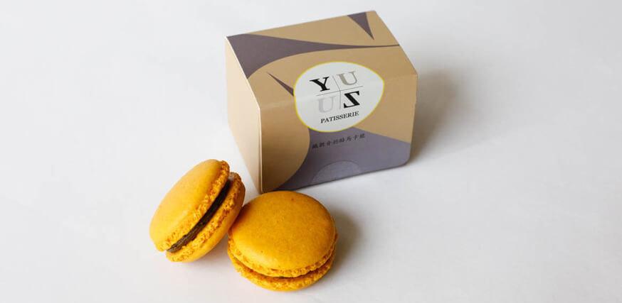 Yuzu鐵觀音奶酪減糖馬卡龍-法式甜點創新口味