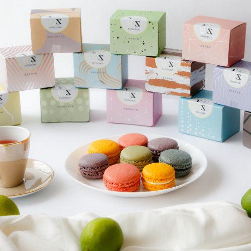 Yuzu綜合分享減糖馬卡龍85折優惠組48顆(不含手提禮盒)